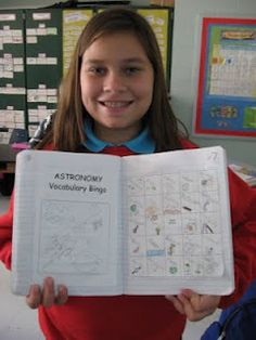 Science Notebooking: Lesson Plan - Start of Astronomy Unit