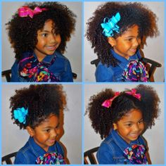 I love her hair Wedding Hairstyles, Cool Hairstyles, Kids Hairstyle, Natural Hair Journey, Little Girl Hairstyles, Pretty Baby, Curly Girl, My Little Girl, Hair Today