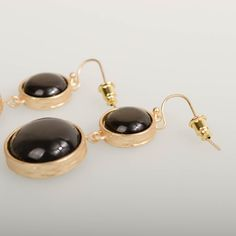 Chocolate Class Earrings