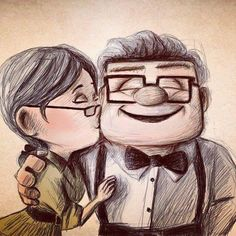 this is adorable. this bourd has all the things I love such as cute cartoon sketches and funny art or silly captions and such lol