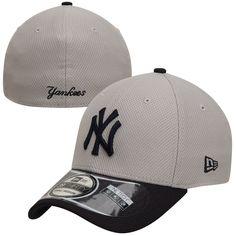 New Era New York Yankees Gray 2-Tone Reverse Diamond Era 39THIRTY Performance Flex Hat