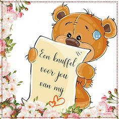 Hug Pictures, Teddy Beer, Glitter Graphics, Happy B Day, Always Love You, Love Notes, Cute Art, Good Night, Special Day