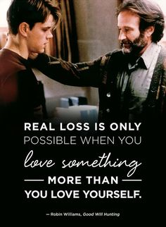 Beautiful Robin Williams quotes to remember.