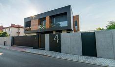 Modern Fence Design, House Gate Design, Facade, Real Estate, Exterior, Outdoor Decor, Home Decor, Metal, Ideas