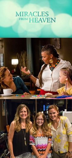 Miracles from Heaven movie. I think a lot of Queen Latifah's part got left on the cutting room floor, agree?