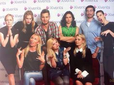 Group photo with Georgina, Victoria, Elizabeth, Scott, Lana, Colin, Jen and Meghan at Fairy Tales III :) Look at Colin, Meghan and Scott ! Hahaha ^^ Can they be any cuter ?! God I love them so much !