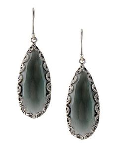 #YvonneChrista for #FirstPeopleFirst #orecchini in #argento #925 #earrings #silver #bohochic #hippiechic #Style #fashion #grey