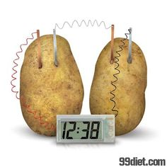 significance of potato battery Significance tests: the basics (day 2)  a company has developed a new deluxe aaa battery that is supposed to last longer  potato chips for his second.