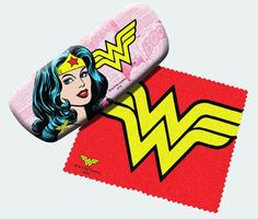 Buy Wonder Woman Eyeglasses Case at Mighty Ape NZ. Wonder Woman Eyeglasses Case with Cleaning Cloth Keep those fancy frames debris-free with the Wonder Woman Eyeglasses Case with Cleaning Cloth! Wonder Woman Party, Wonder Woman Comic, Wonder Woman Logo, Wonder Women, Dc Comics, Book Logo, Eyeglasses For Women, Glasses Case, Eye Glasses