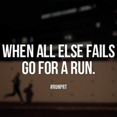 Go for a run.