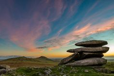 [OC] Rough Tor at Sunset. Bodmin Moor UK. [20481366] #reddit