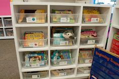 Mrs. Ricca's Kindergarten: Organization library labels