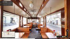 Cafe Tramwaj Tour virtuale: https://www.google.com/maps/@50.011965,20.985364,3a,75y,65.59h,92.24t/data=!3m5!1e1!3m3!1s78D4fgNiePQAAAQpjA0pfg!2e0!3e2
