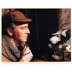 Autograph Warehouse 410504 Christopher Plummer Autographed Photo Sherlock Holmes 1979 Murder by Decree 67 Size 8 x 10 in. Image No.5, As Shown