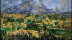 Mont Sainte-victoire Artwork By Paul Cezanne Oil Painting & Art Prints On Canvas For Sale Cezanne Art, Paul Cezanne Paintings, Renoir, Monet, Inside Art, Pop Art, Philadelphia Museum Of Art, Paul Gauguin, Art World