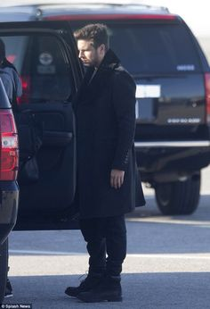 Scott Disick black jacket and black timberland boots