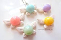 Legend of Zelda Navi Fairy Necklace by NerdyLittleSecrets on Etsy