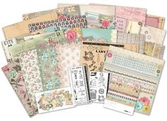 The new Needle & Thread collection from Kaisercraft for the 2013 Winter CHA Show