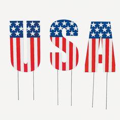 """USA""+Yard+Decoration+-+OrientalTrading.com"