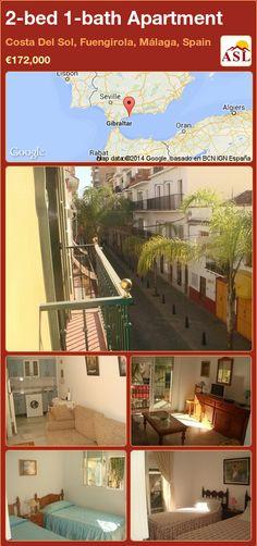 2-bed 1-bath Apartment in Costa Del Sol, Fuengirola, Málaga, Spain ►€172,000 #PropertyForSaleInSpain