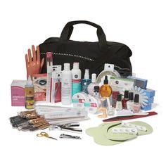 ASP Beauty School Professional Manicure and Pedicure Kit Pedicure Kit, Manicure And Pedicure, Mani Pedi, Powder Manicure, Pedicure Designs, Nail Designs, Nail Technician License, Cosmetology Kit, Nail Tech School