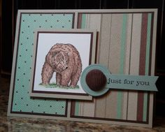 Masculine: just for you by monkeymama - Cards and Paper Crafts at Splitcoaststampers
