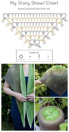 My Story Shawl Crochet Shawl Pattern
