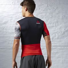 Reebok - ONE Series ACTIVChill PW3R Short Sleeve Compression Top