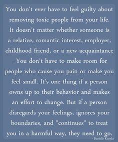 Cutting toxic people out of your life... could not have said it better myself.  Life is good and noooooooooooo drama.