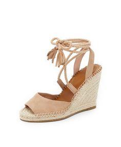 joie suede phyllis wedge sandal