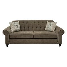 Stacy Sofa In Fortress Seal | Nebraska Furniture Mart