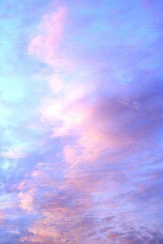 Pastel clouds.