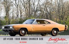 This cool #copper #DodgeCharger 500 will cross the block in January at our 2017 #Scottsdale #Auction! With only 14,000 original miles, this #matchingnumbers #musclecar is powered by a 426ci #HEMI and has had a comprehensive frame-off #restoration. Lot #1339: http://bit.ly/az69Chrgr #barrettjackson #collectorcar #auction #carcollector #carcollection #autoauction #classiccars #classiccar #WestWorldofScottsdale #Arizona #WestWorld #dodgecharger #dodge #dodgechargernation #charger #thatsmydodge