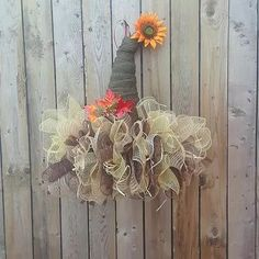 Fall Scarecrow Wreath