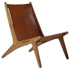 View this item and discover similar for sale at - The Hunting chair model 204 was made by Uno & Östen Kristiansson and belongs to the absolute top in Swedish design history. The chair features a frame Swedish Design, Scandinavian Design, Unique Furniture, Hunting, Mid Century, Chair, Wood, Modern, Vintage