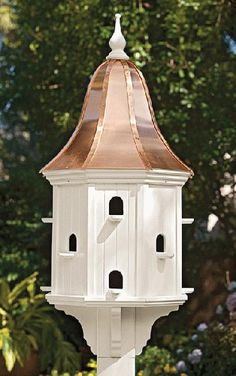 1914: Martin Birdhouse Mansion with Copper Roof (Product Detail)