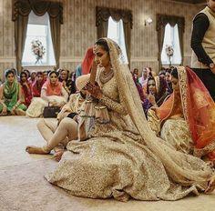 Bridal wear by Sabyasachi Mukherjee