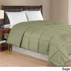 Solid Color Down Alternative Comforter