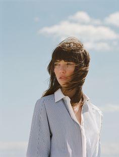 ZARA - #zaraeditorial# - WOMAN - BLUE SHADES