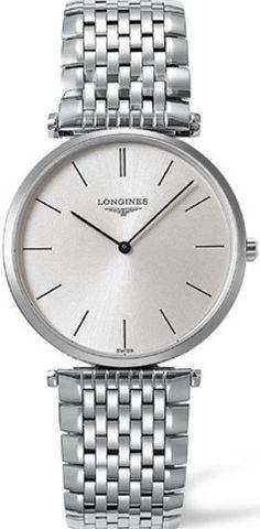 Longines Watch La Grande Classique de Longines Mens #bezel-fixed #bracelet-strap-steel  #buckle-type-deployment #case-depth-5mm #case-material-steel #case-width-35mm #delivery-timescale-1-2-weeks #dial-colour-silver #gender-mens #luxury #movement-quartz-battery #official-stockist-for-longines-watches #packaging-longines-watch-packaging #sku-lng-276 #subcat-la-grande-classique-de-longines #supplier-model-no-l4-800-4-72-6 #warranty-longines-official-2-year-guarantee #water-resistant-30m