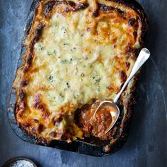 Donal Skehan's three-cheese lasagne recipe. For the full recipe, click the picture or visit RedOnline.co.uk
