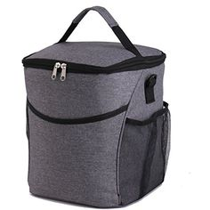 PUTING Lunch Bags, Cooler Insulated Lunch Tote bag, Large Picnic Food Bag For Adults, School Luch Bag for Kids, Travel Outdoor Oxford Square Bags, Food Cooler Store with Detachable Shoulder Strap. For product & price info go to:  https://all4hiking.com/products/puting-lunch-bags-cooler-insulated-lunch-tote-bag-large-picnic-food-bag-for-adults-school-luch-bag-for-kids-travel-outdoor-oxford-square-bags-food-cooler-store-with-detachable-shoulder-strap/