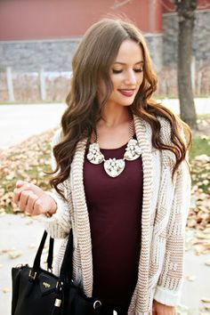 Kiss Me Darling: Cardigan Weather featuring Fashion By Mariah