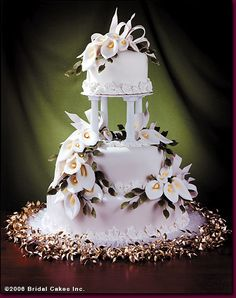 calla lily wedding cakes - Bing Images