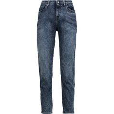 IRO Faxy cropped mid-rise boyfriend jeans (145 CAD) ❤ liked on Polyvore featuring jeans, black, faded jeans, loose fit jeans, boyfriend jeans, loose fitting jeans and low-rise boyfriend jeans