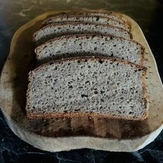 Jednoduchý ražno-špaldový kváskový chlieb - Spoza plota Banana Bread, Desserts, Food, Tailgate Desserts, Dessert, Postres, Deserts, Meals