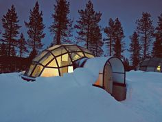 Dream Honeymoon -- You Can Rent A Glass Igloo In Finland To Watch The Northern Lights
