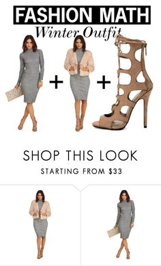 """""""Fashion Math - Winter Outfit"""" by windsorstore ❤ liked on Polyvore featuring Winter, outfit and math"""