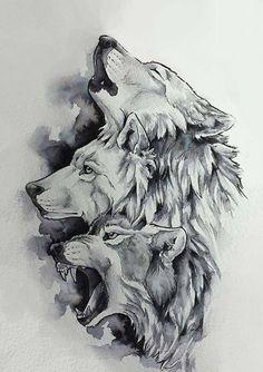 Wolf Tattoo Design, Tattoo Designs, Tattoo Ideas, Art Drawings Sketches, Tattoo Sketches, Animal Drawings, Wolf Tattoos Men, Animal Tattoos, Eagle Tattoos