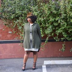 In My Joi: For the Love of Stripes #psblogger #plussize #forever21plus